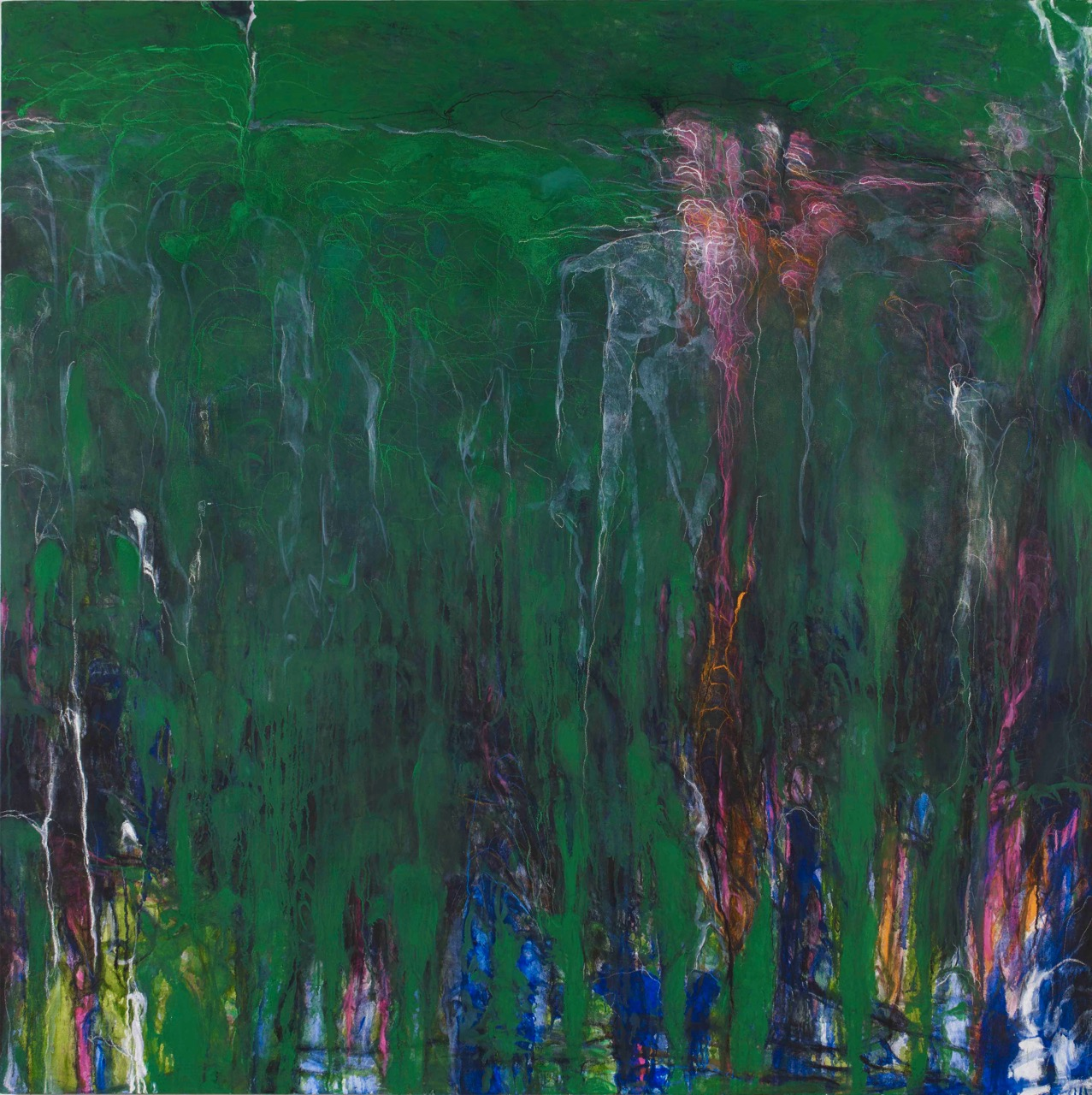 松本 陽子《振動する風景的画面》
